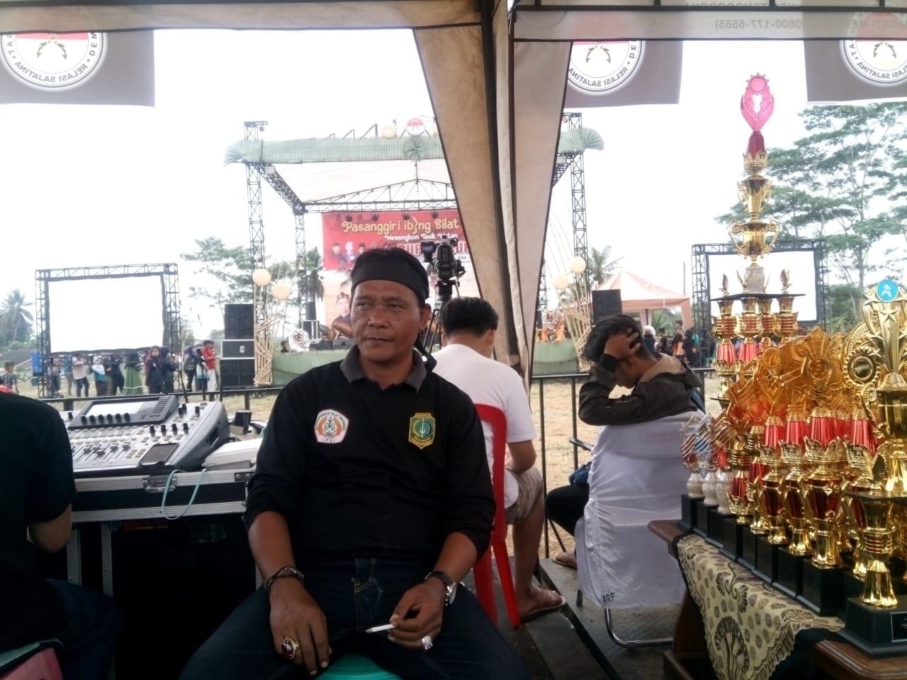 Caption : Ketua Umum DPP Paguyuban Sajatina Yayan Sopyan