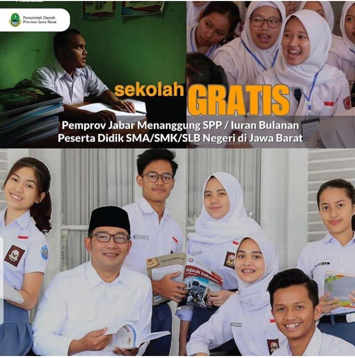 Sekolah Gratis Mulai Tahun Ajaran Baru Juli 2020 Ini - SERGAP