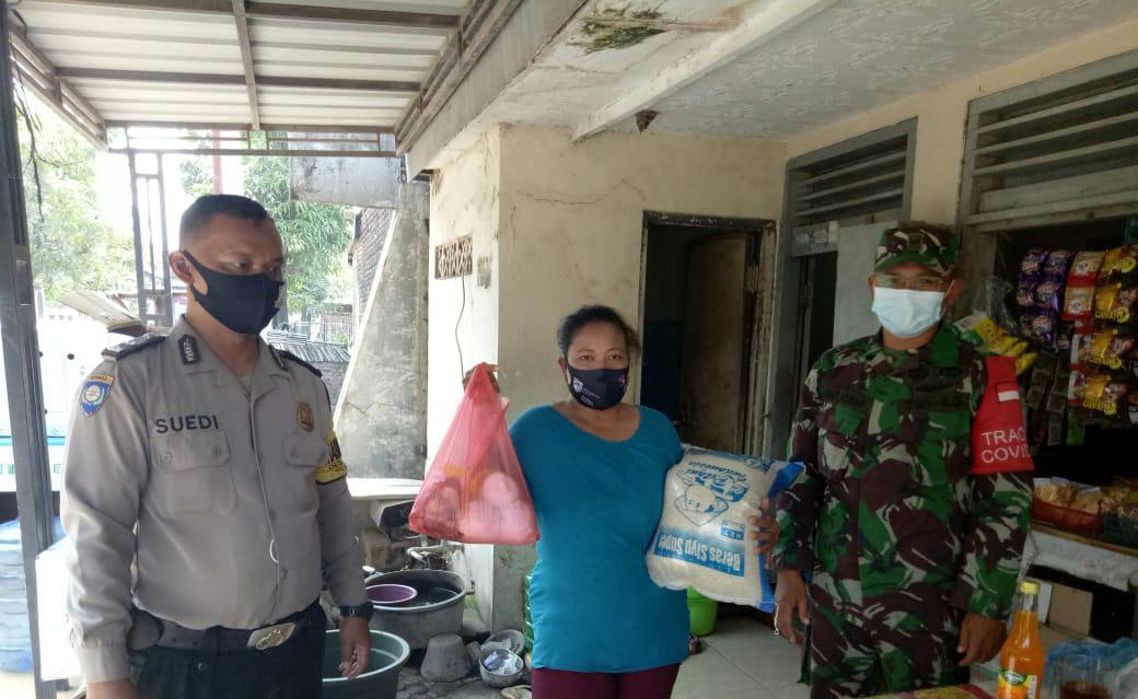 Sasaran Sambang Bhabinkamtibmas Desa Babadan Polsek Gunung Jati Polres Ciko, Penyaluran BPNT