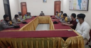 Anev Mingguan Polsek Karawang Kota Polres Karawang