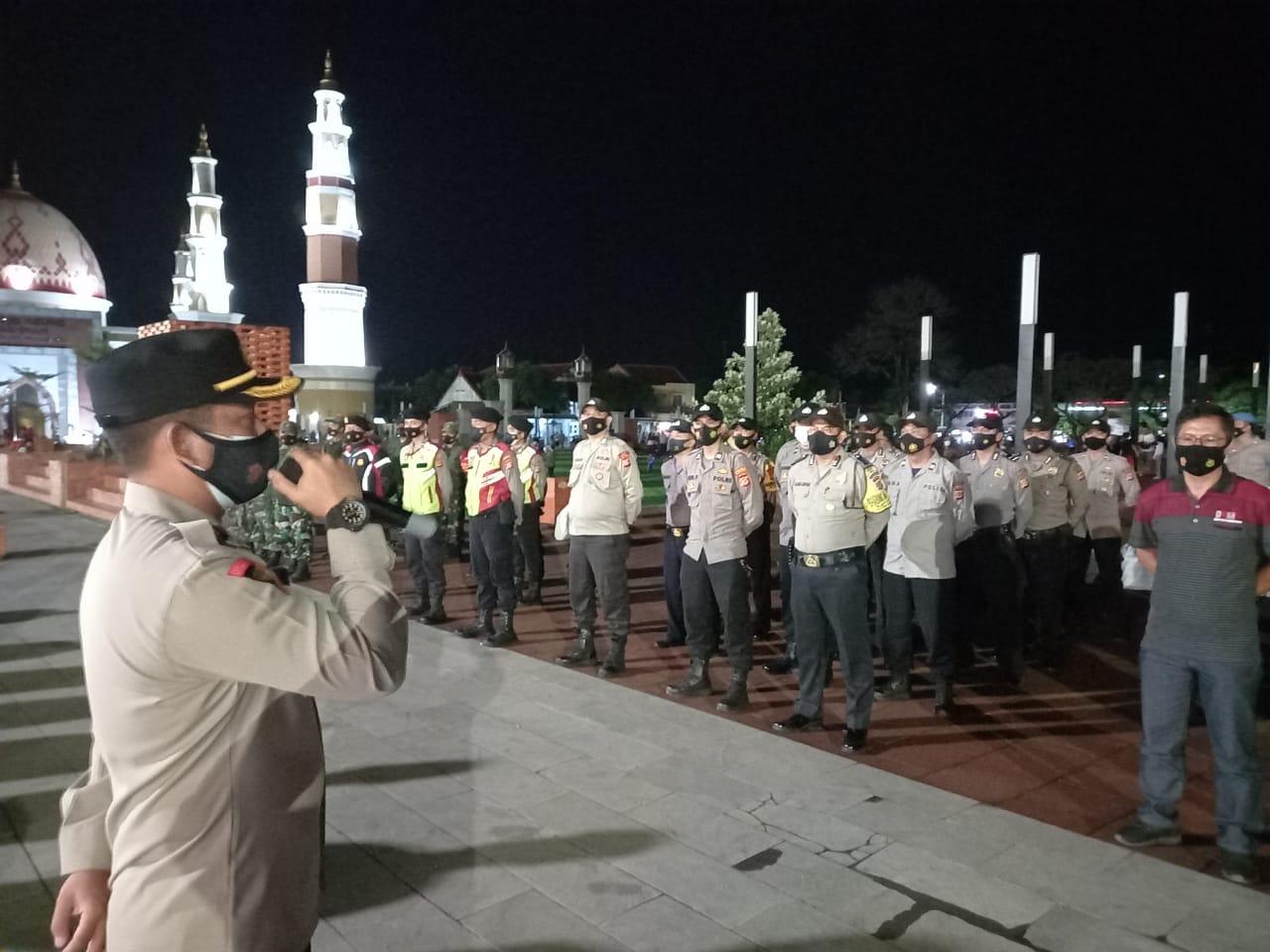 Kabag Ops Polres Majalengka Pimpin Apel Kesiapan KRYD, Ciptakan Majalengka Aman, Kondusif dan Bebas Dari Covid-19