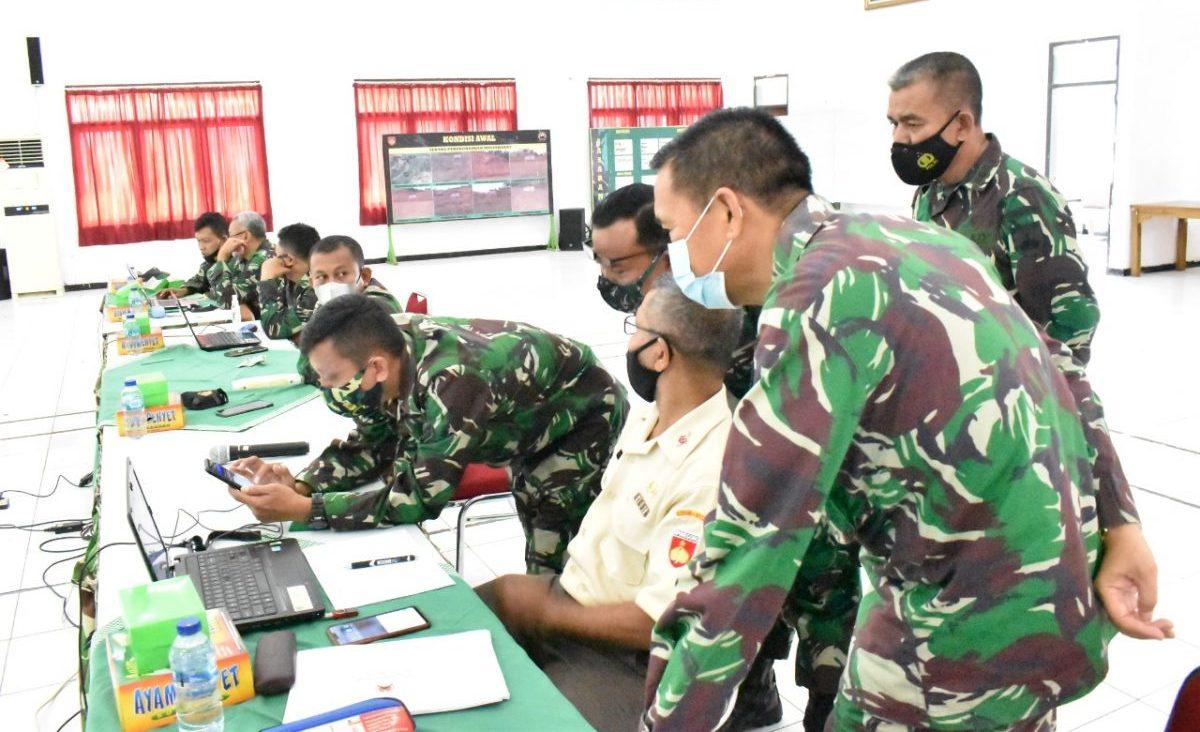 Korem 071Wijayakusuma Gelar Sosialisasi Pembinaan Sistem Informasi (Sisfo) TNI AD