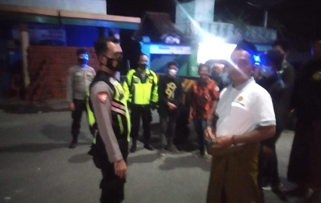 Polsek Malausma Tingkatkan Patroli Malam Kamtibmas Pasca Pilkades Serentak 2021