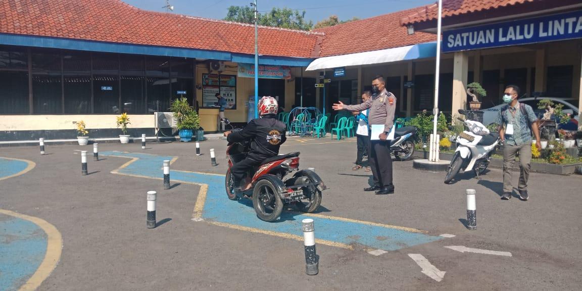 Satlantas Polres Brebes Beri Layanan Khusus Penyandang Disabilitas Buat SIM D