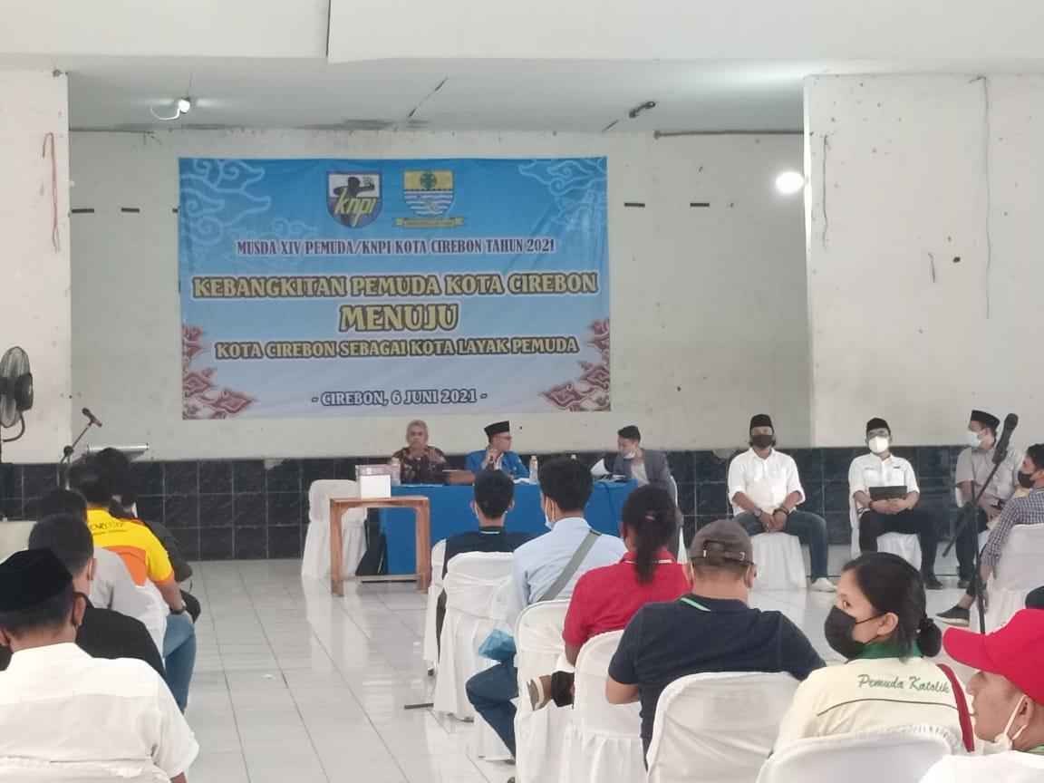 Melalui Dua Putaran, R. Jarum Terpilih Sebagai Ketua KNPI Kota Cirebon