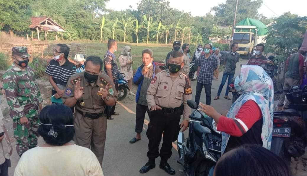 Penegakan Disiplin Prokes, Gabungan Polsek Jatiwangi Bersama Muspika Lakukan Ops Yustisi