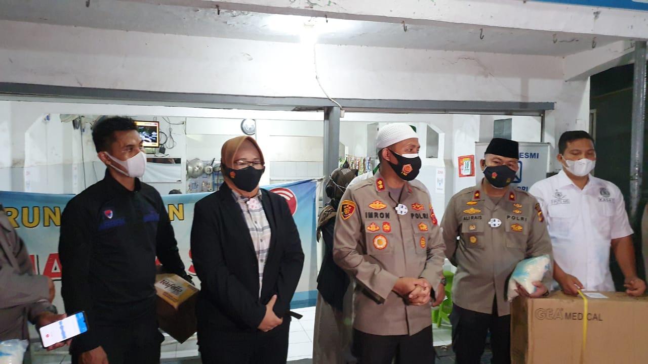 Lansia Usia 76 Tahun Gagal Ginjal dan Lumpuh, Dapatkan Perhatian Kapolres Cirebon Kota