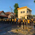 Tingkatkan Kebugaran Dan Kesehatan, Kapolres Cirebon Kota Laksanakan Olah Raga Bersama