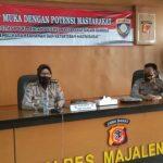 Kasubdit Bin Polmas Dit Binmas Polda Jabar Tatap Muka Polri Dengan Potensi Masyarakat Majalengka