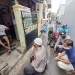 Kapolres Cirebon Kota Sinergi Dengan TNI dan Wartawan Bansos Kursi Roda