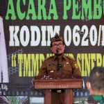 Kodim 0620Kabupaten Cirebon Gelar TMMD Imbangan di Desa Dompyong Kulon