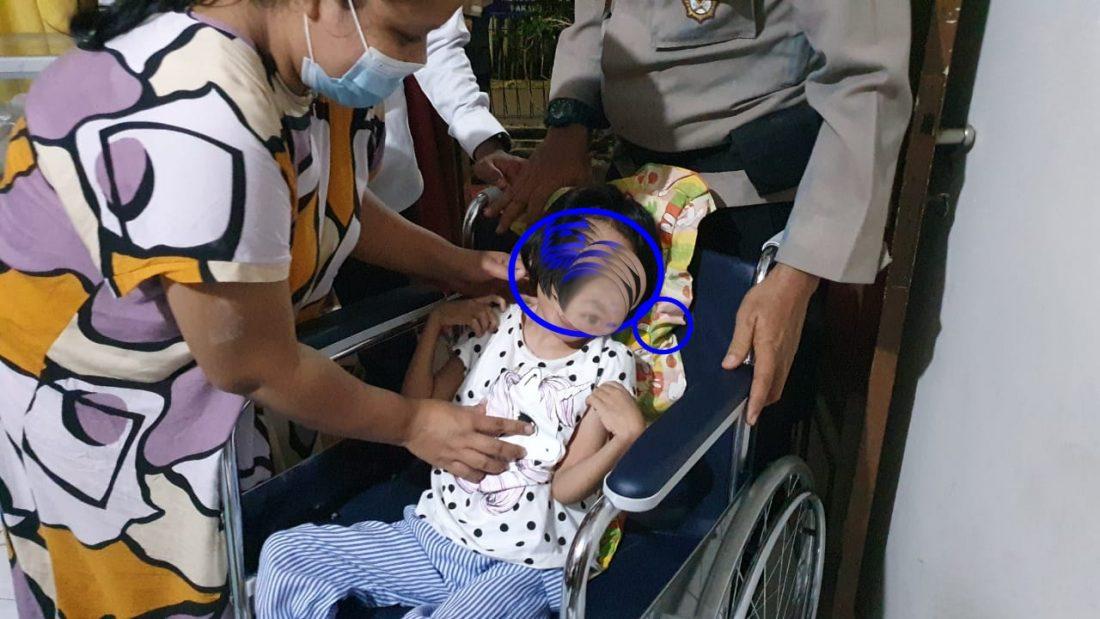 Terlahir cacat, Bocah 9 tahun Dapat Bantuan Kursi Roda Dari Kapolres Cirebon Kota