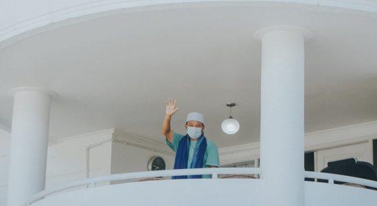 Positif COVID-19, Pak Uu Jalani Isolasi Mandiri di Rumah Dinas