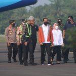 Presiden Joko Widodo Kunjungi Bandara JBS