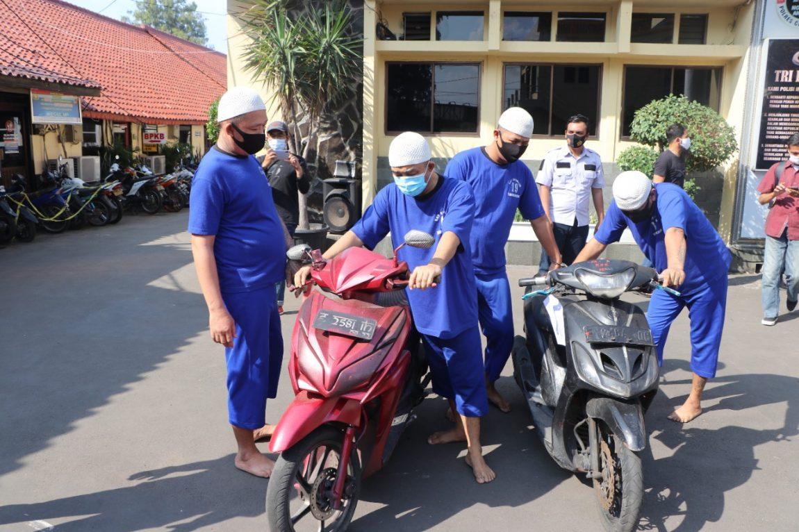 Sat Reskrim Polres Cirebon Kota Berhasil Amankan Empat tersangka Pencurian Kekerasan