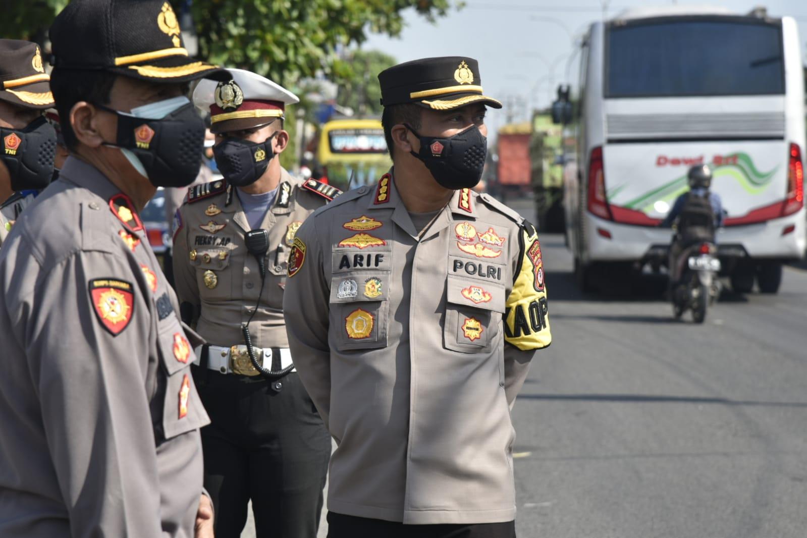 Antisipasi Libur Idul Adha, Polresta Cirebon Gelar Penyekatan Jalur Tol dan Non Tol