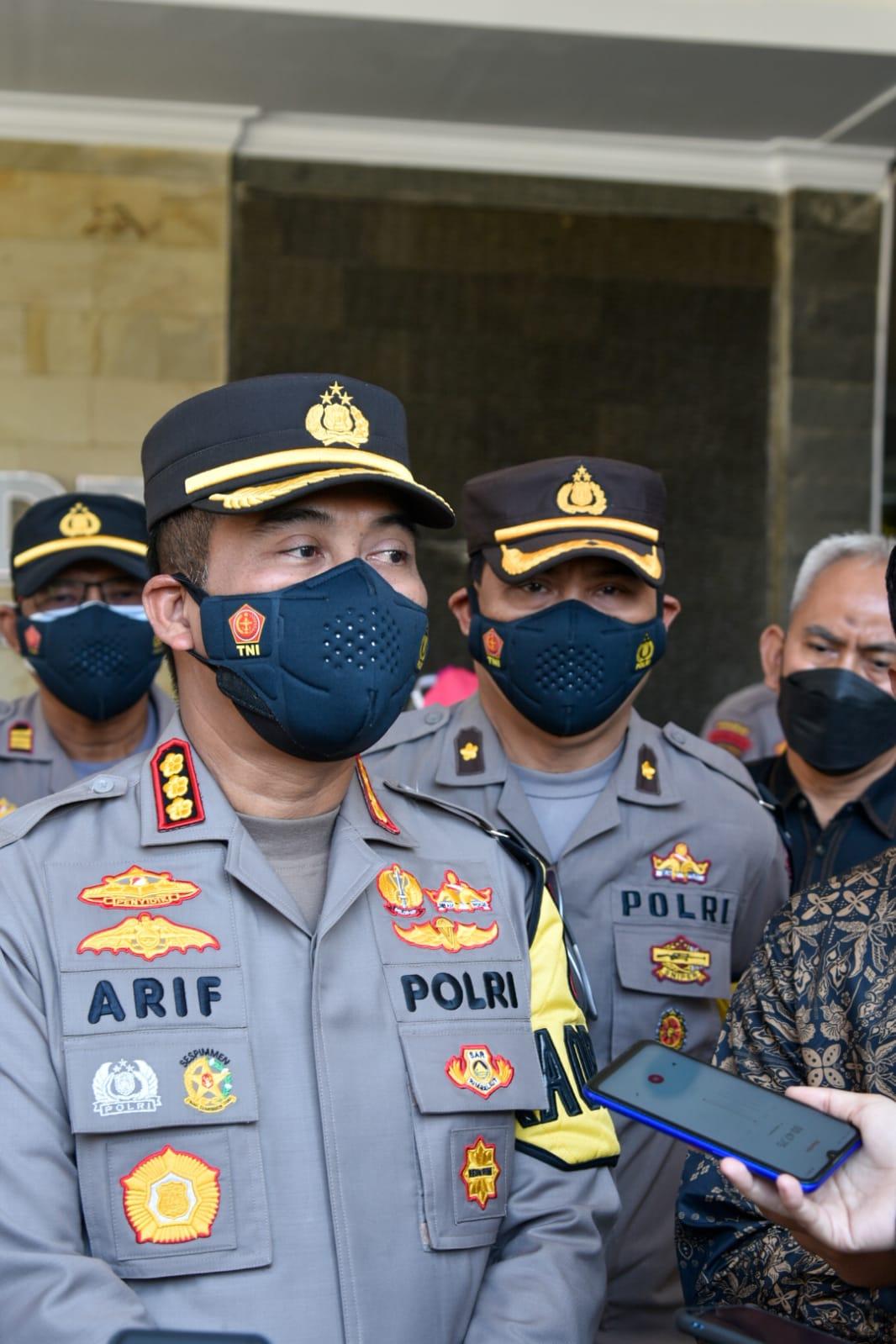 Vaksinasi Massal Polresta Cirebon Menyasar Perguruan Tinggi