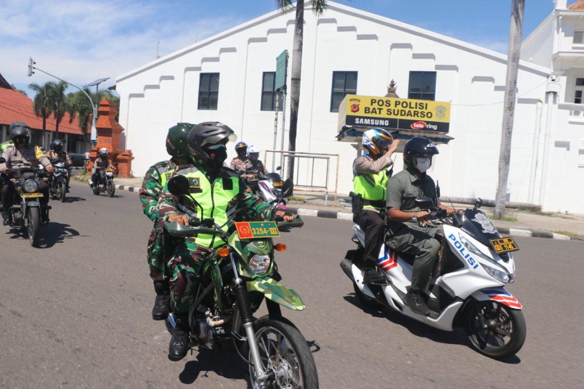 Sinergitas Kapolres Ciko dan Dandim 0614/Kota Cirebon serta Aliansi OKP Ormas dan LSM Peduli PKL Dampak PPKM Darurat