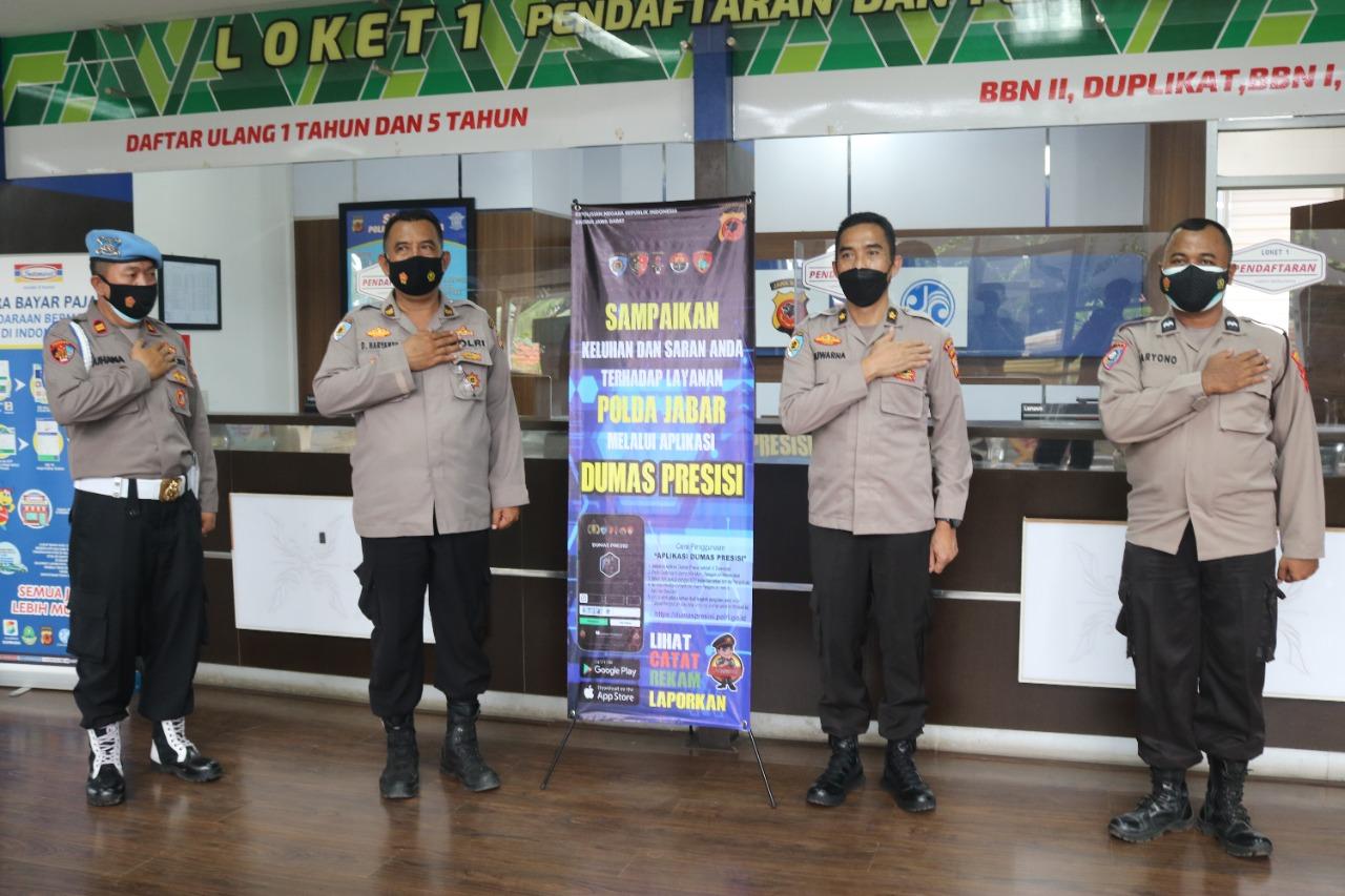 Tim Itwasda Polda Jabar Sosialisasikan Dumas Terpadu/Presisi di Wilayah Hukum Polres Majalengka