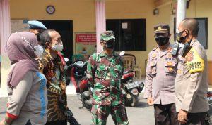 Kapolres Cirebon Kota Hadiri Gerai Vaksin Presisi TNI-POLRI di Desa Grogol Gunung Jati