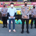 Kepedulian PT SMJ Bersama Polres Brebes Salurkan 1.000 Paket Sembako Untuk Masyarakat Terdampak Covid -19