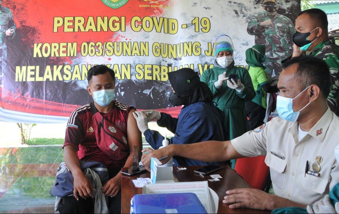 Karena Vaksin, Korem 063/SGJ Terus Diserbu Masyarakat