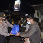 Polres Cirebon Kota Gelar Gabungan Patroli Skala Besar Serta Bakti Sosial Dalam Rangka PPKM level 4