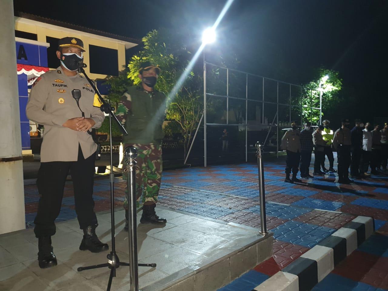 Polres Majalengka Gelar Apel Kesiapan Pengamanan Malam Takbiran Idul Adha 1442 H