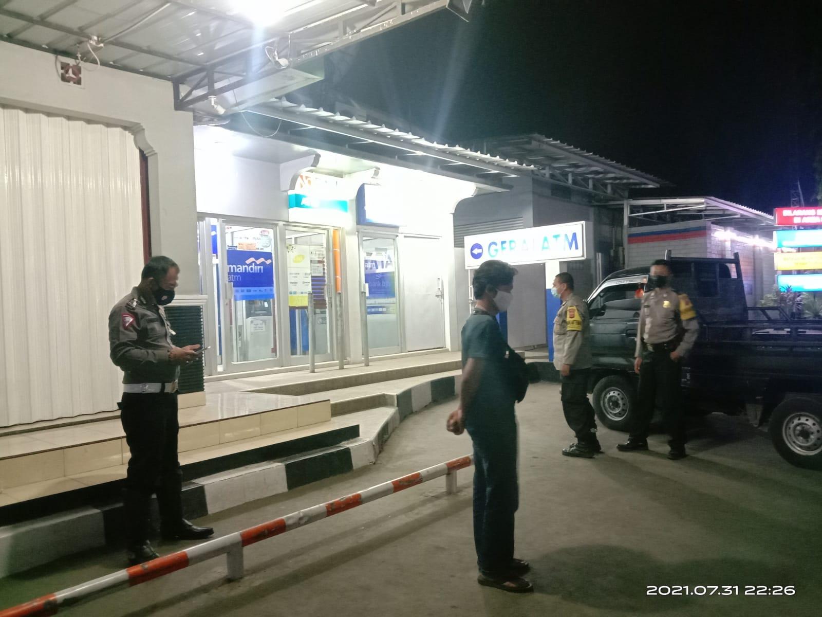 Dimasa PPKM Level 4, Polsek Kapetakan Polres Ciko Tingkatkan Patroli Mobile Titik Rawan Kejahatan