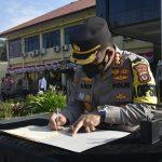 Kapolresta Cirebon Pimpin Sertijab Kapolsek Karangsembung