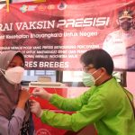 Polres Brebes Bersama UMUS Vaksin 1000 masyarakat Umum dan Mahasiswa