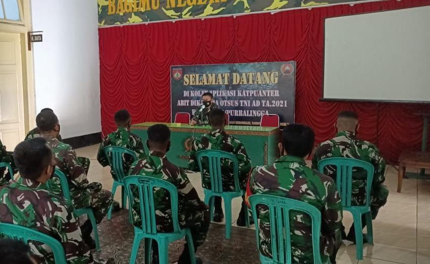 Bintara Asal Papua Belajar Teritorial di Kodim Purbalingga