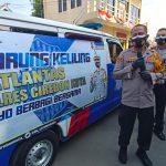 Ditengah Kegiatan Pres Rilis, Kapolres Cirebon Kota Luncurkan Mobil Warung Keliling Sat Lantas Polres Cirebon Kota