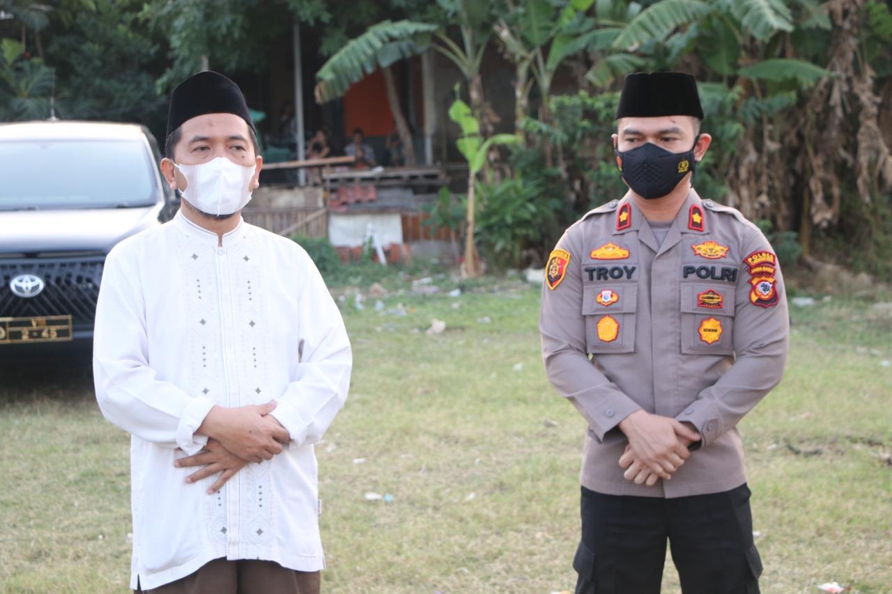 Waka Polres Cirebon Kota, hadiri Bhakti Sosial TNI-POLRI-Ponpes Lantabur dan Aliansi Gerakan Mahasiswa Cirebon