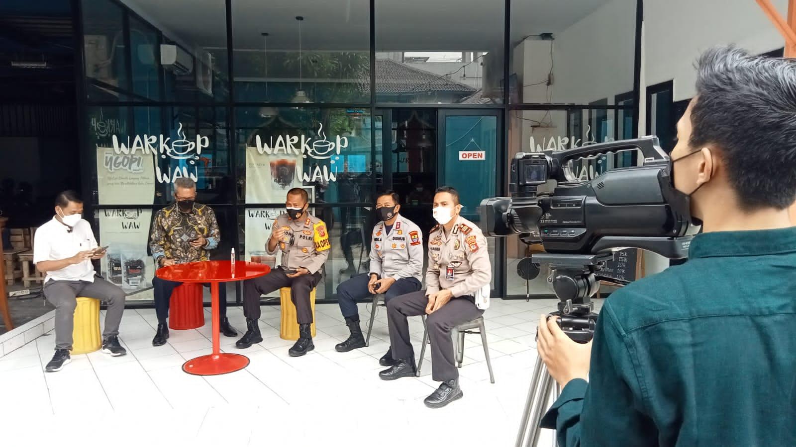 Kapolres Cirebon Kota Bersama Pemda Kota Cirebon Sosialisasi Penerapan Ganjil-genap