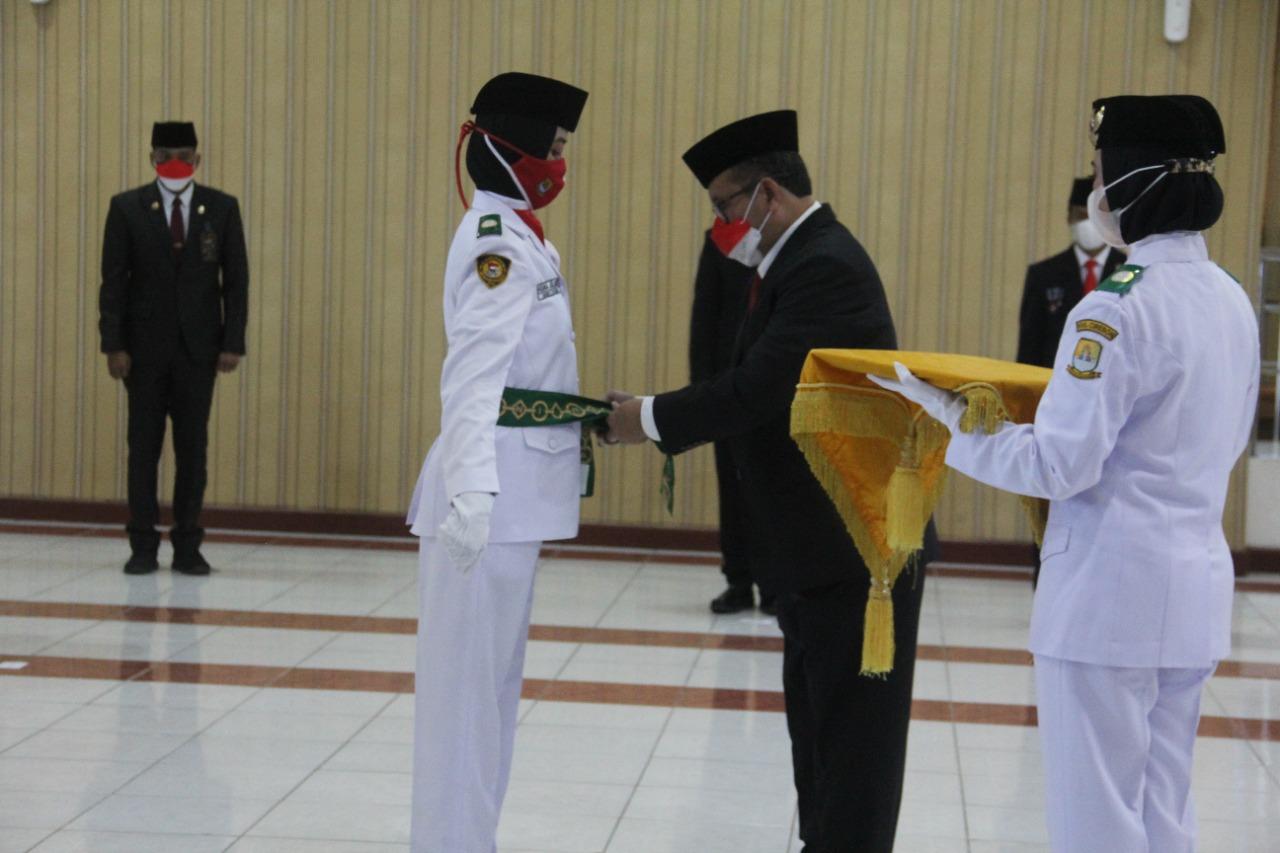 Bupati Kukuhkan 40 Paskibraka Kabupaten Cirebon Tahun 2021