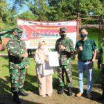 Kasdam III/Slw Tinjau Pelaksanaan Serbuan Vaksinasi Di Ciater Kabupaten Subang