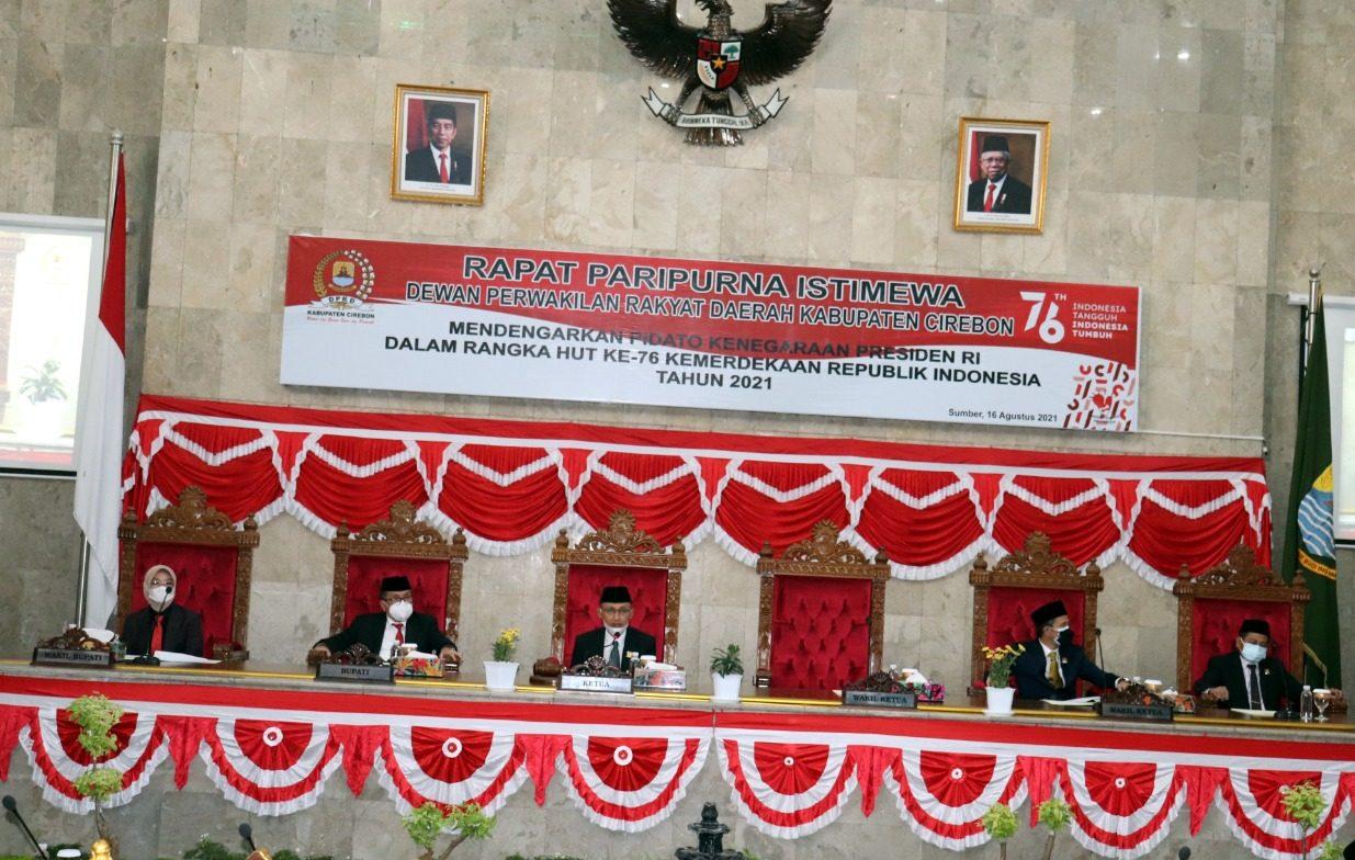 Unsur Forkopimda Simak Pidato Kenegaraan Presiden Jokowi