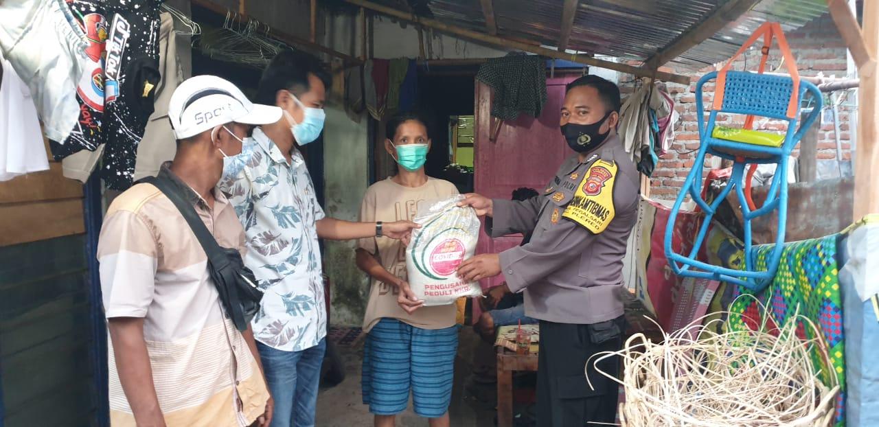 Polresta Cirebon Beri Bantuan Sosial Kepada Warga Slum Area Desa Tegalsari dan Desa Cangkring