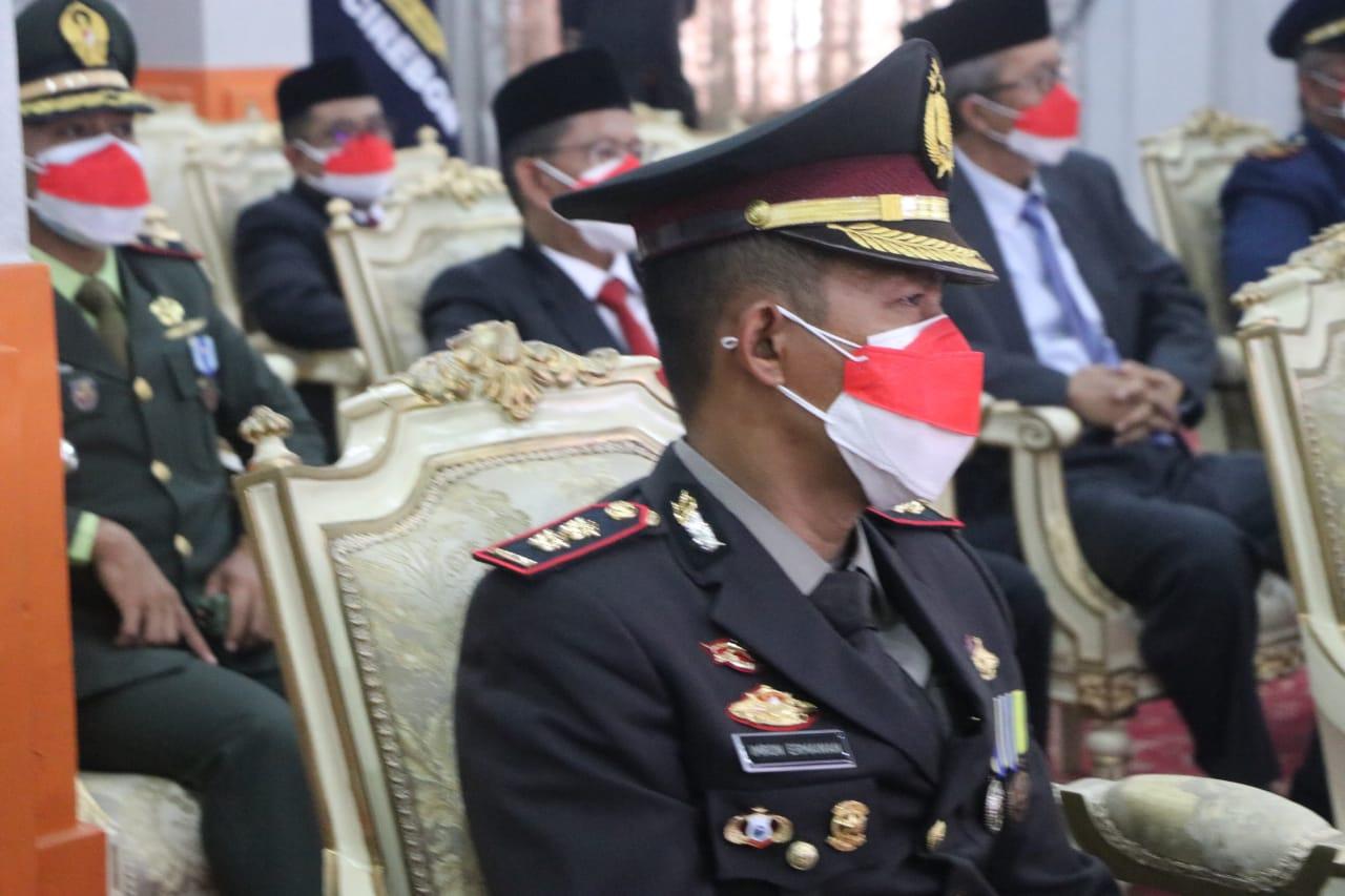 Kapolres Cirebon Kota Hadir Dalam Upacara Peringatan HUT Ke-76 Kemerdekaan RI