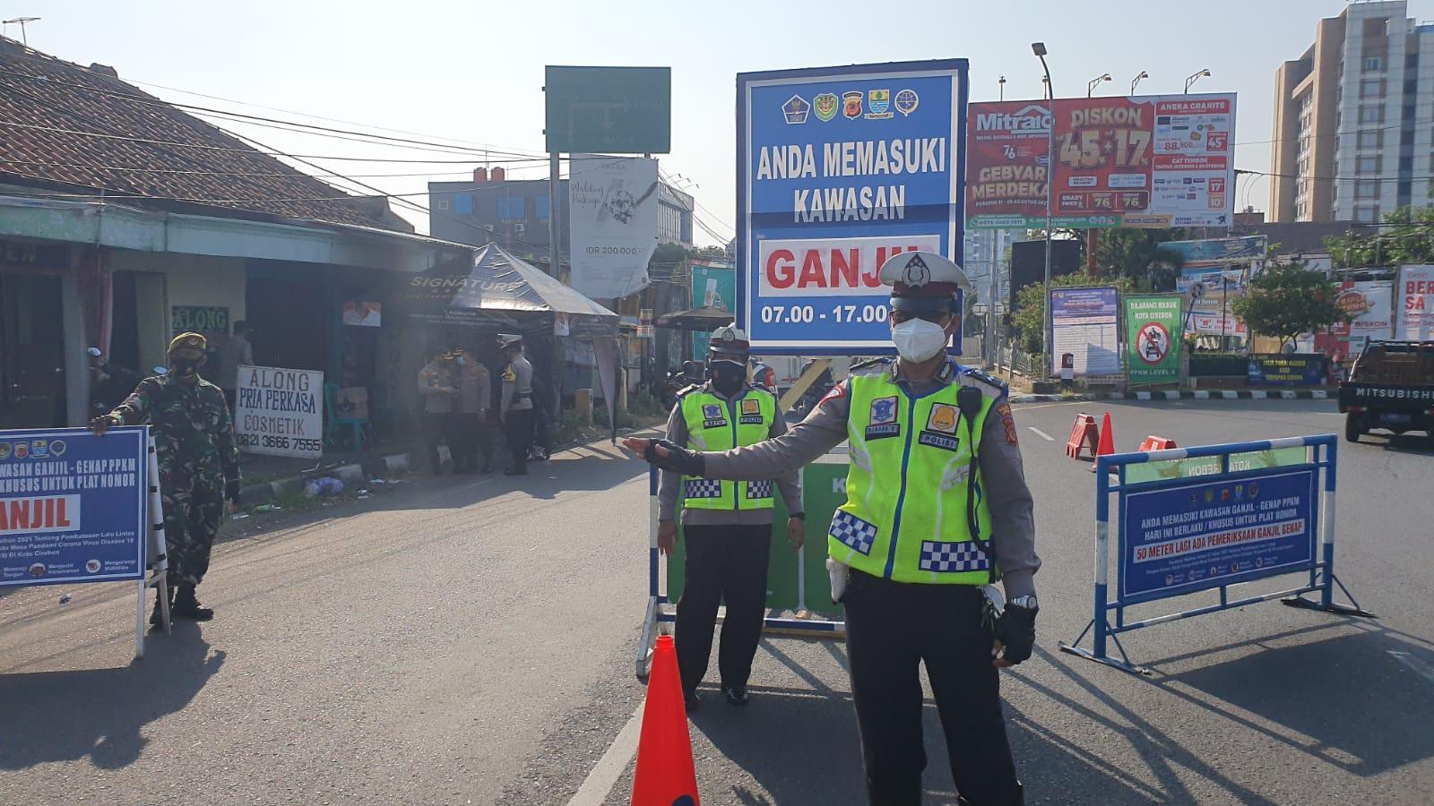 Kapolres Cirebon Kota Fokuskan Pagi Hari Cek Gage di Pos Kedawung