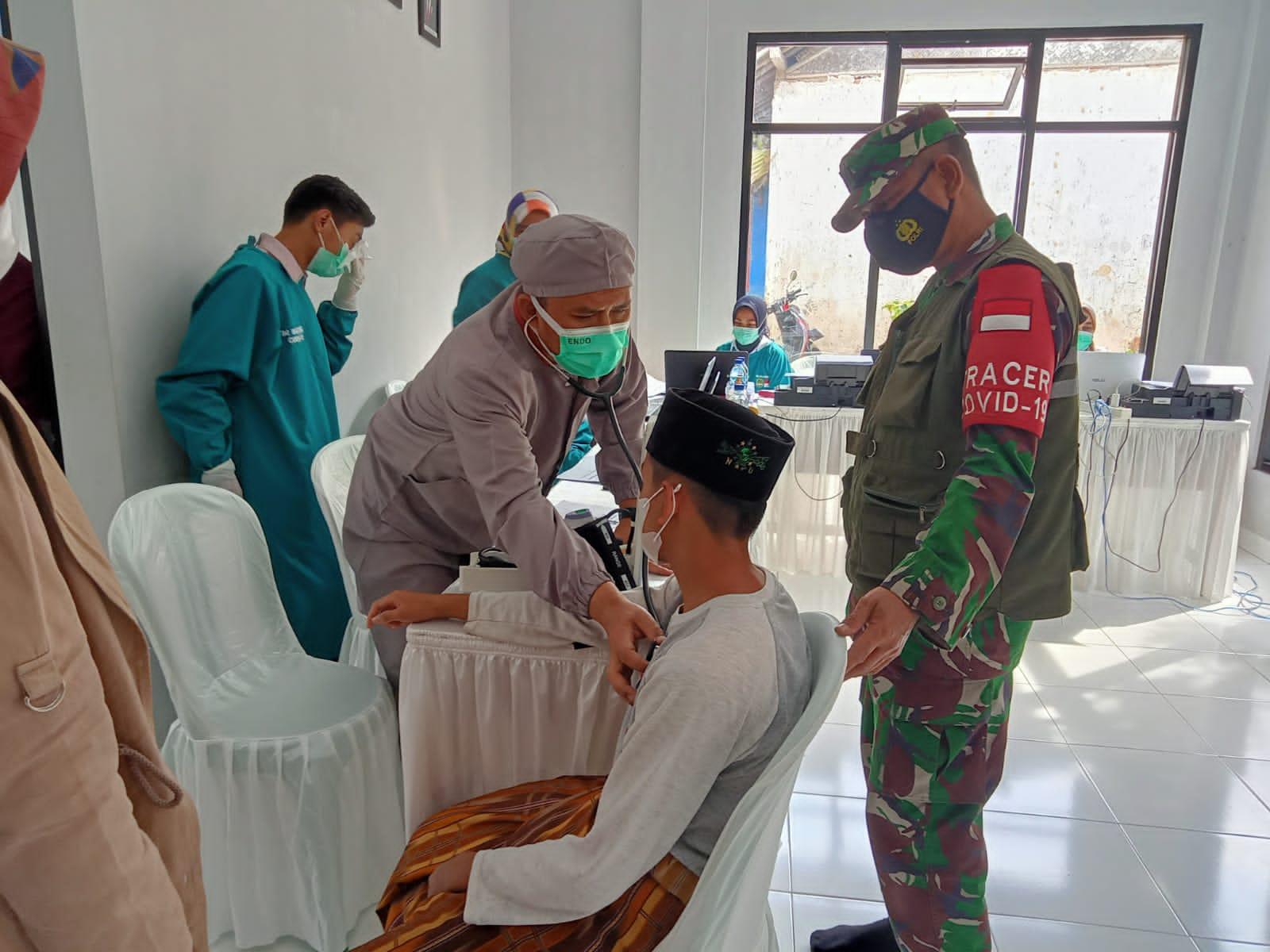 Gerai Vaksinasi Terus Digencarkan TNI Kodim 0617/Majalengka