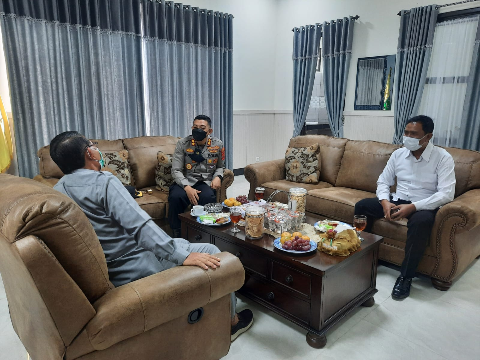 Jalin Sinergitas dan Ciptakan Kamtibmas Yang Kondusif, Kapolres Majalengka Silaturahmi Dengan Ketua DPRD