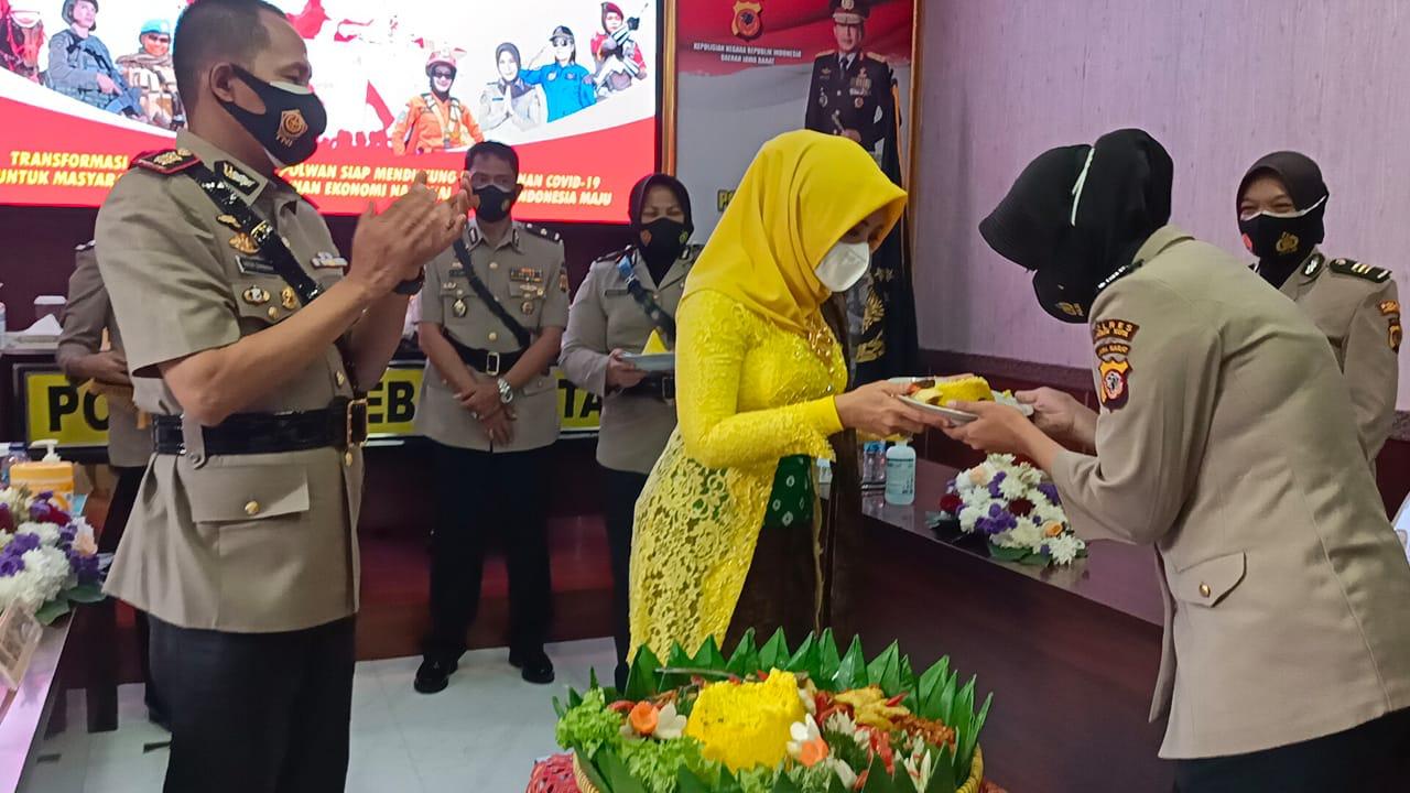 Kapolres Cirebon Kota Hadiri Peringatan Hari Jadi Polwan Ke-73, Secara Virtual