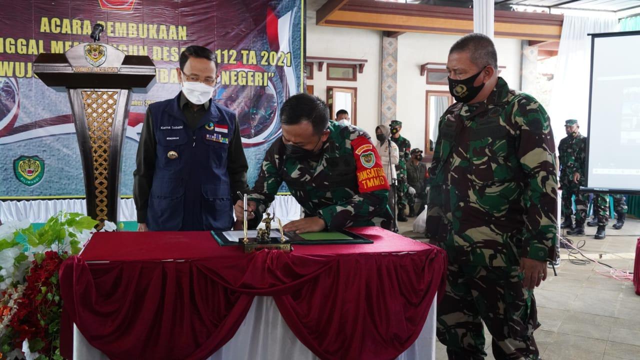 Ratusan Prajurit Mulai Dikerahkan ke Lokasi TMMD ke-112 Kodim 0617 Majalengka