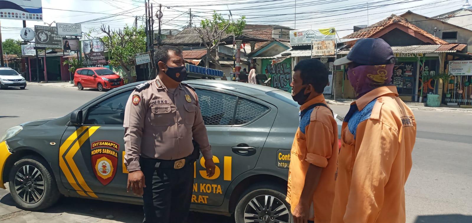 Polsek Utbar Polres Ciko, Patroli Dialogis Sambangi Warga Himbau PPKM Dimasa Pandemi