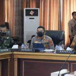Kapolres Majalengka Hadiri Rakor Penanganan Covid-19 Secara Virtual Oleh Pemerintah Kabupaten Majalengka