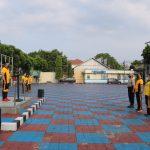 Rutinitas Jumat Bersih Polres Majalengka Cegah COVID-19 di Pimpin Langsung Oleh Kabaglog