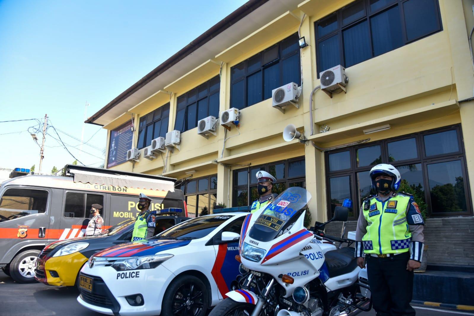 Ribuan Personel Gabungan Siap Amankan Pilwu Serentak di Kabupaten Cirebon