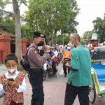 Satuan Samapta Unit Dalmas Polres Cirebon Kota Gelar Kegiatan Woro-woro